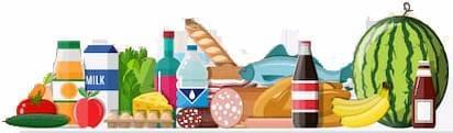 Сочетание продуктов (железо, цинк, кальций)