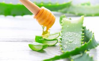 Лечение мёдом и алоэ