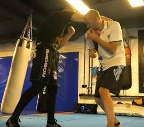 Фото: Уклон в боксе