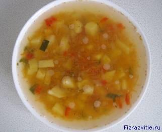 Фото: Похлёбка (овощной суп, простой суп)