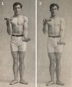 Домашние упражнения с гантелями (1913 год)