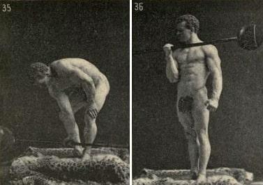 Упражнения со штангой