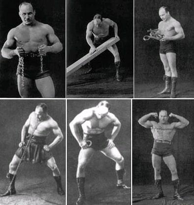 Цирковые номера Александра Засса